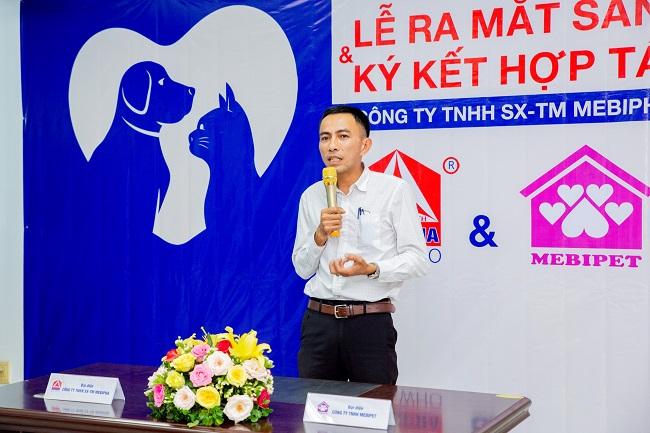Theo ông Huỳnh Công Tuấn – Tổng giám đốc Mebipha, việc ký kết thỏa thuận hợp tác nằm trong kế hoạch phát triển lâu dài giữa Mebipha và Mebipet.